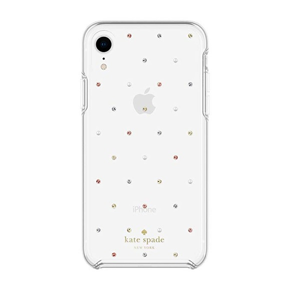 Kate Spade Clear Pin Dot Defensive Hardshell Case NWT